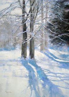 BARBARA BENEDETTI NEWTON Pastel painting