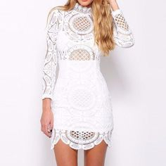 Cecile Embroidery Dress