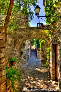 Seguret ~ is one of the official most beautiful villages in France, located in the Vaucluse department, Provence in southeastern France