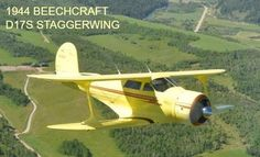 #FeaturedListing 1944 Beechcraft D17S Staggerwing available at trade-a-plane.com