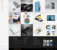 Node WordPress theme comes with numerous portfolio layouts perfect for showcasing projects of any kind. Product Branding, Portfolio Layout, Creative Business, Wordpress Theme, Ecommerce, Conference, Layouts, Web Design, Concept