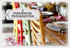 A Farmhouse Thanksgiving