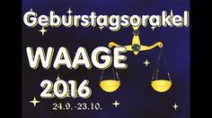 Geburtstagsorakel Waage 2016