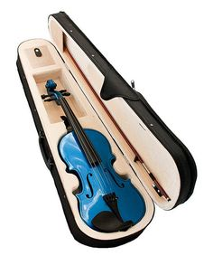 Take a look at this Blue Violin Set - 1/4 Size on zulily today!