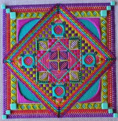 Zeca Jewels - 3rd in series - counted needlepoint