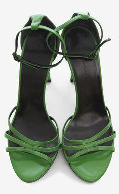 #Green Sandal