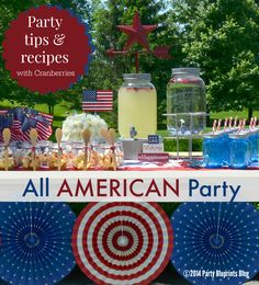 Fourth of July Party Tips and Recipes with America's Original Superfood #UScranberries #plantoparty
