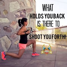 What holds you back is there to shoot you forth.