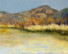 DPW Fine Art Friendly Auctions - Spring Lake Morning by Dalan Wells