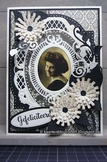 Aliexpress Dies Cards, Marianne Design Cards, Birthday Cards, Happy Birthday, Anna Griffin, Vintage Cards, Paper Crafting, Cardmaking, Monochrome