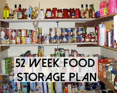 52 Week Food Storage Plan - Preparedness