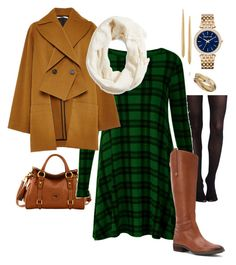 """Untitled #13"" by m2415m on Polyvore featuring Jennifer Fisher, SPANX, Dooney & Bourke, Sam Edelman, Rosetta Getty, Lucky Brand, Wallis and Michael Kors"