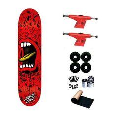 7d2501f3bd10 Santa Cruz Meat Hand Powerply 7.62 Skateboard Deck Complete by Santa Cruz.  $58.99. 8 - Abec 3 Bearings. 4 - Yellow Jacket Blank Wheels 53mm.