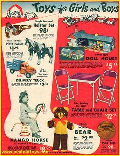 Vintage 1954 Our Own Hardware Christmas Catalog Tonka Toys Advertisement Christmas Catalogs, Old Christmas, Retro Christmas, Christmas Greetings, Retro Advertising, Retro Ads, Vintage Advertisements, Advertising Campaign, Vintage Christmas Images
