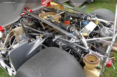 porsche 917/10 - whole lotta engine!