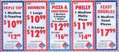 never a problem locating great coupons Brooklyn Pizza, Pizza Coupons