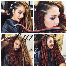 Crochet Braids Expression Multi : Crochet braids hair, Crochet braids and Braid hair on Pinterest