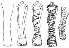 Reference Images for Artists | kelpls: MY FROND asked me how i draw shoes and...