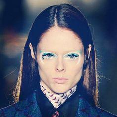 "Coco Rocha ""The eye makeup for yesterday's Miu Miu show was amazing."