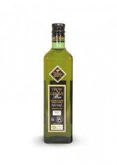 Oro de Génave Bio 750 ml (Caja 12 botellas). Tiene un frutado intenso a fruto maduro, con un ligero amargor y picor característico de la variedad picual.