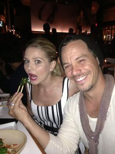 Dining in style! Michael and Jennifer make such an awesome couple in OUAT!!! :)
