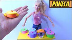 como fazer PANELINHAS para bonecas Barbie,ever after high,monter high etc