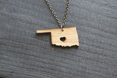 Bamboo Oklahoma Charm from Truche for $26.00