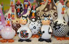Tays Rocha: Ateliê na TV e True Colors, em Águas de Lindóia! #gourds #crafts