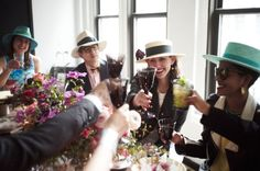 How to Throw a Modern Kentucky Derby Party - produced by AphroChic for Lonny.