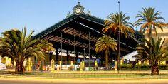Estación Central Train Stations, Culture, Mansions, House Styles, Places, Shopping, Santiago, Parking Lot, Antique Photos
