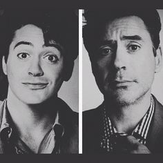 age 20 --- age 47. #beautifullyaged cute to handsome #rdj