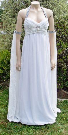 RESERVED Kahleesi Daenerys Wedding Dress with by annaladymoon