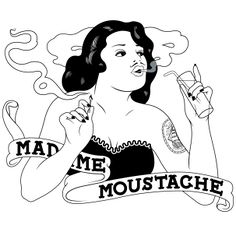 Madame Moustache - rockabilly circus bar (reco from Melissa) Moustache, Upcoming Events, Madame, Rockabilly, Disney Princess, Recherche Google, Disney Characters, Belgium, Illustrations
