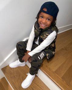 Little Black Boys, Little Boy Swag, Baby Boy Swag, Cute Black Babies, Beautiful Black Babies, Cute Little Baby, Cute Babies, Toddler Boy Outfits, Cute Outfits For Kids