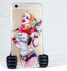 Show off Harley Quinn on your iPhone. All of your friends will be highly jealous!