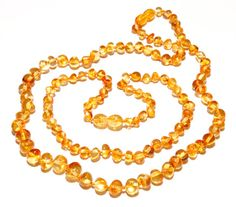 Genuine Baltic Amber Beads Set Baby Teething and by BLTAmber, $22.50