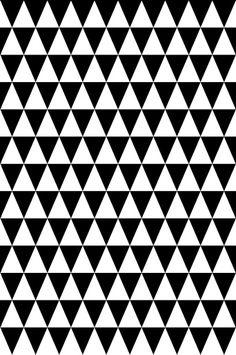 Wallpaper by ellos Musta Bonnie-taustatapetti, musta #black #white #pattern