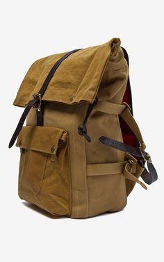 Filson Roll-Top Backpack Tan