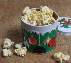 Vanilla Flavored Popcorn