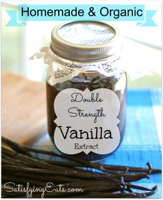 EASY Homemade Double Strength Vanilla Extract