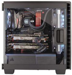 커세어, 고성능 PC 케이스 카바이드 400Q, 400C 2종 출시 :: 다나와 DPG