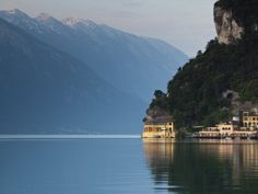 Trentino-Alto Adige, Lake District, Lake Garda, Riva Del Garda, Excelsior Hotel at La Punta, Italy