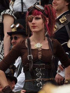 Steampunk fashion/cosplay