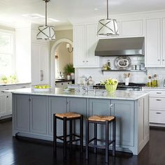 Potential shade of grey for cabinets. Ideally, it would be less blue tone