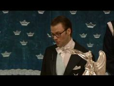 Prince Daniel's Speech at his wedding to Princess Victoria of Sweden; most of it is spoken in Swedish, but there is a very sweet retelling in English of a romantic gesture done by the Princess around the 1:15 mark.