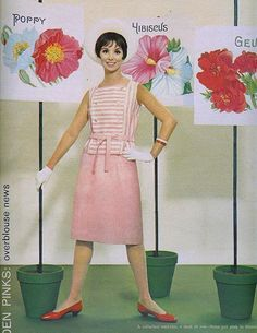 Pink Poppy From Seventeen, March 1961 via sugarpie honeybunch at Flickr
