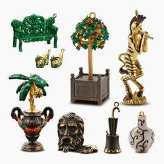 Caixinha de jóias que se transforma em várias jóias