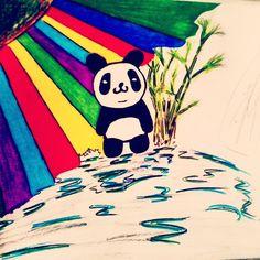 panda como sol