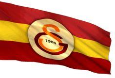 Dalgalanan hareketli Galatasaray  Bayragi, GS tutkunlarina hediyem olsun