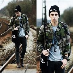 roupas militar - fashion camuflado  -  descolado -  estilo militar - camuflada - masculino - camouflage - military fashion - menswear -   military fashion  - cool - beautiful - military style